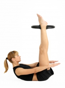 Pilates Hundred with Pilates Ring